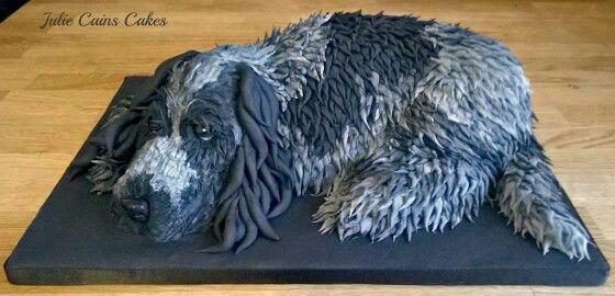 Cocker Spaniel Birthday Cake Dog Themed Parties Dog Cakes Dog Cake