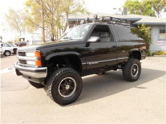 1999 2 door tahoesoon  4x4 madness  Pinterest  Cars Cars