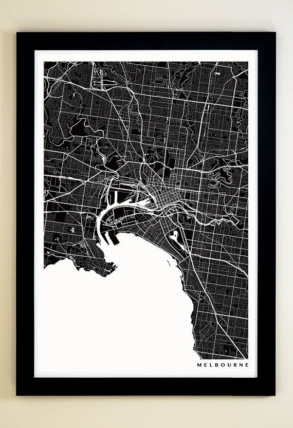 Melbourne map art print gicle print melbourne wall art my house melbourne map art print gicle print melbourne wall art gumiabroncs Gallery