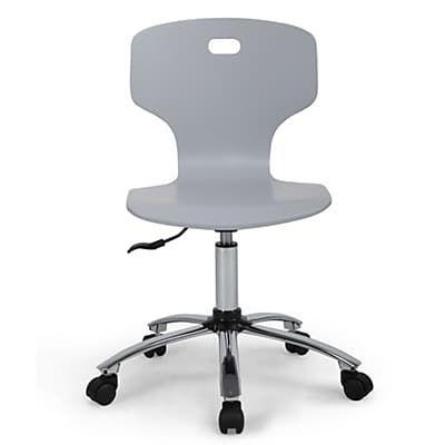 Chaise De Bureau Junior Grise A Roulettes Chaise Bureau Chaise Fauteuil