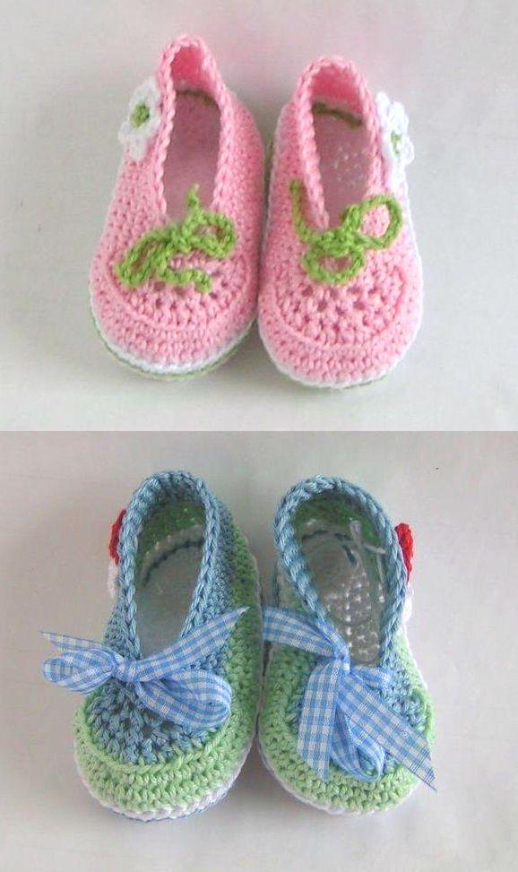 Für kleine Füße - Häkelanleitung via Makerist.de | Babygeschenk ...