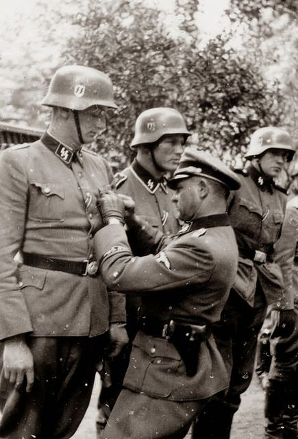 1940, France, Metz, Le SS-Obergruppenführer Josef Sepp ...