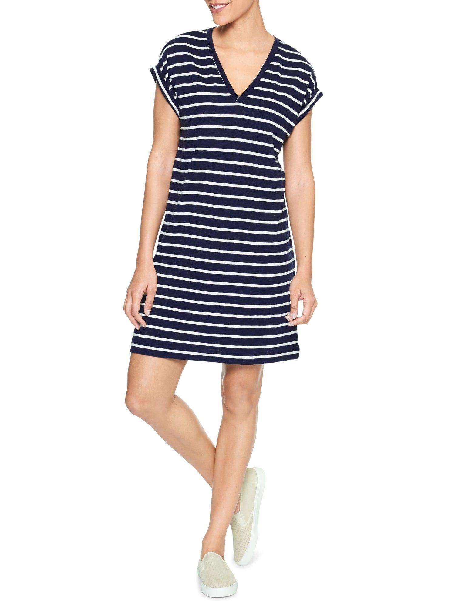 b334c525184f Roll Sleeve Slub T-shirt Dress | Gap Factory | That's how I roll ...