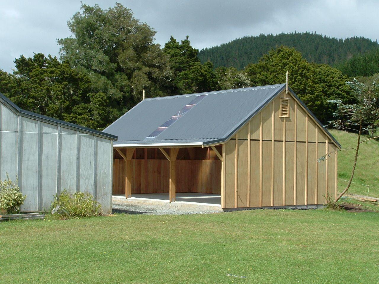 Customkit Wooden Kitset Barns, Sheds, Utility Buildings