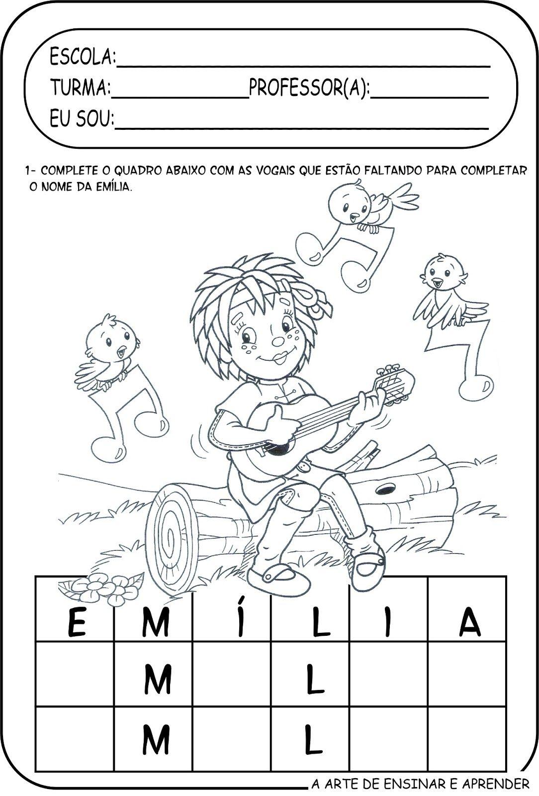 Site Educativo Voltado Para A Educacao Infantil Com Artes