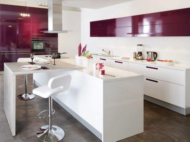Cuisinella cuisine look star blanc rose | Future House | Pinterest ...