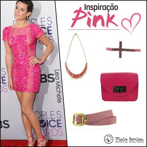 Inspiração Pink - Lea Michele