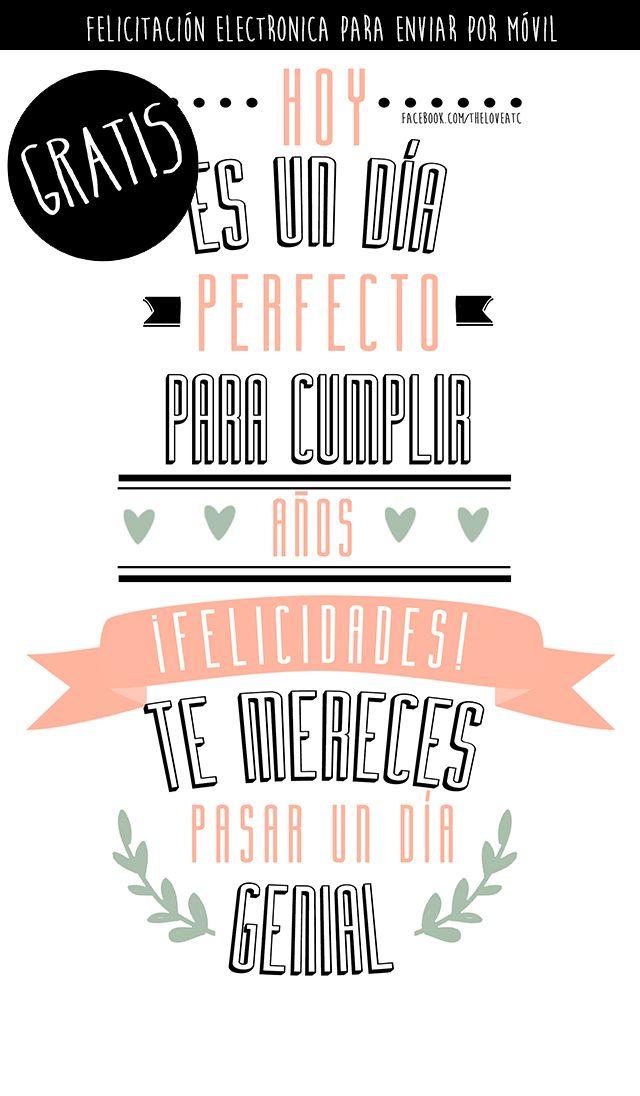 Pin De Sophia Vega En Love Descargables Español Carta De Feliz Cumpleaños Tarjetas De Feliz Cumpleaños Postales De Feliz Cumpleaños