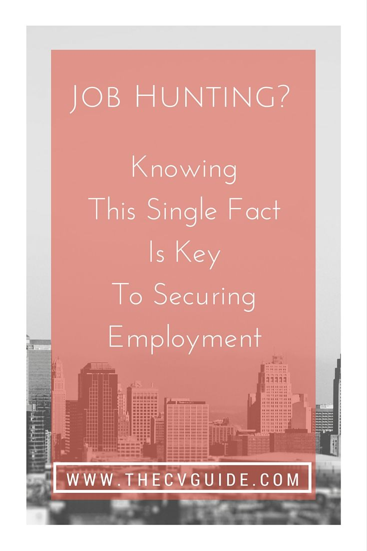 Presented by The CV Guide at thcvguide.com This single fact will ...