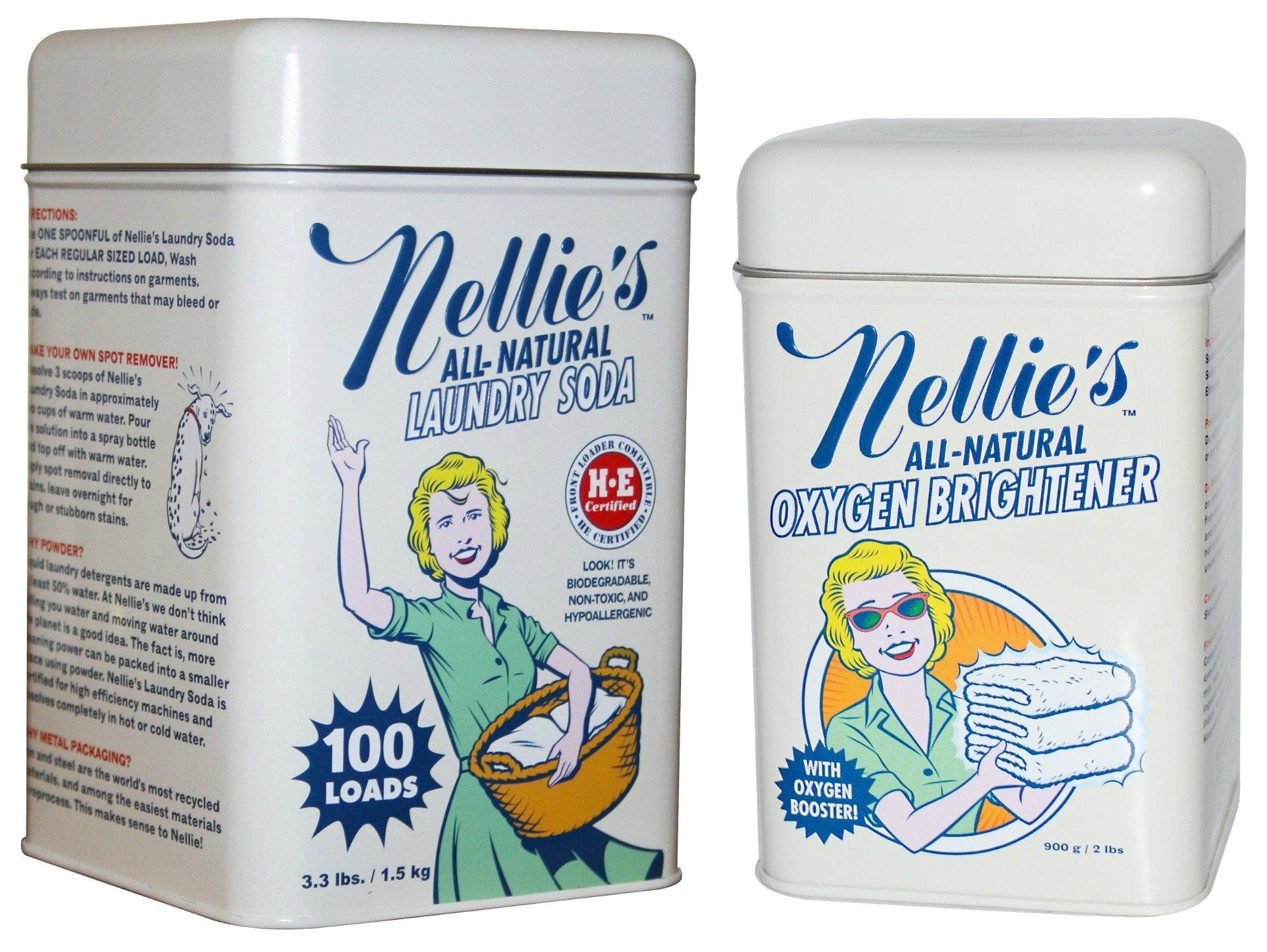 Amazon Com Nellie S All Natural Laundry Soda And Oxygen