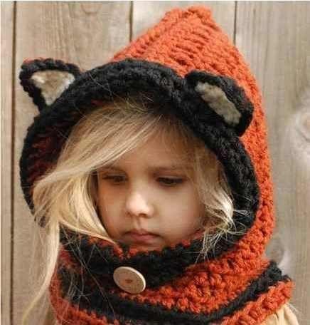 capucha cuello crochet patron - Buscar con Google | Tejido ...