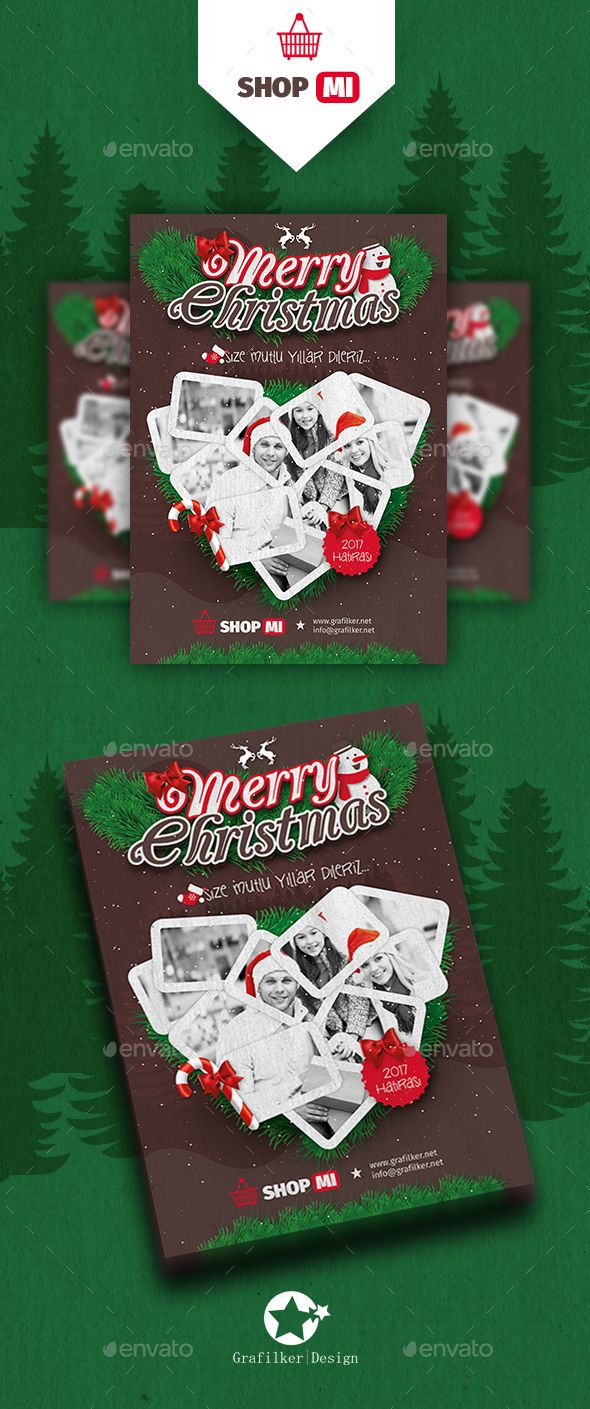 Christmas Flyer Templates  Christmas Flyer Flyer Template And