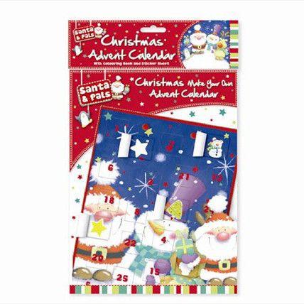 Make Your Own Christmas Advent Calendar Kiddie Closet Pinterest