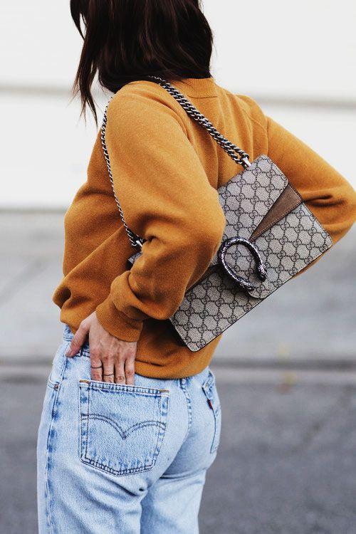 26ee96aa45613e It Girl Essential - Gucci Dionysus Bags. In the Mood: Dionysus Fever   Gucci  Dionysus Bag Street Style   Lovika.com