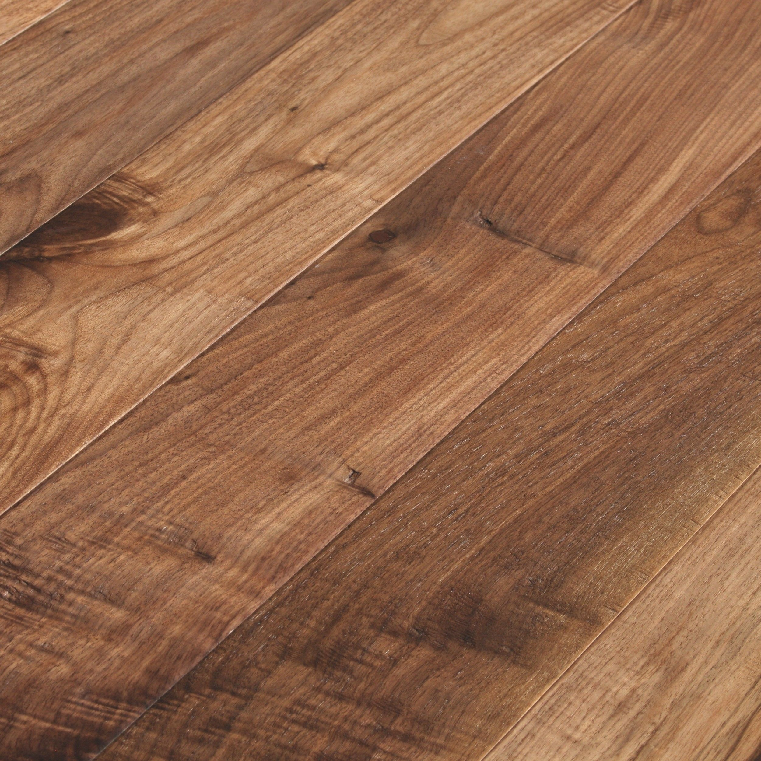 Millennium walnut oiled natural hand scraped flooring for Hardwood timber decking