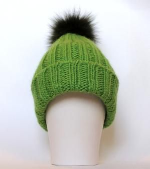 green bobble hat by HatsandOtherStories (With images ...