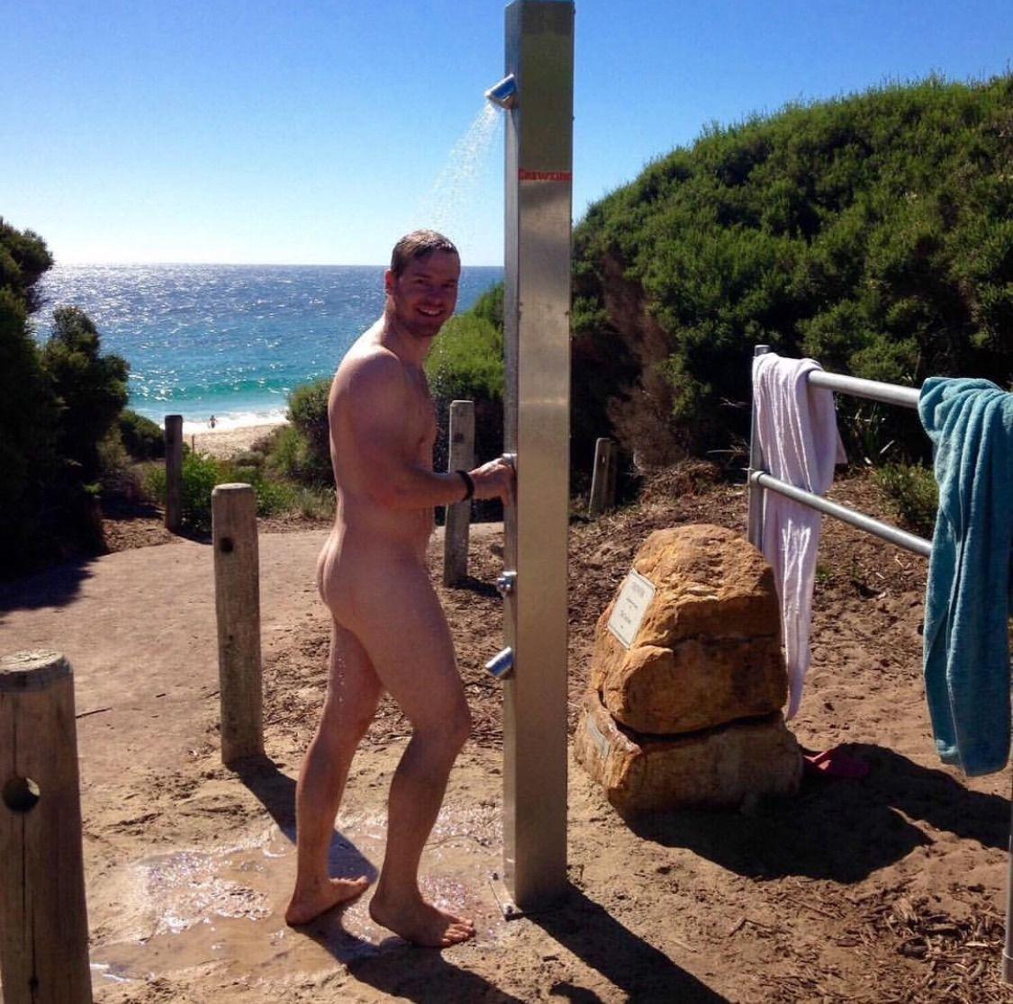 Beach alomg nude nude with you
