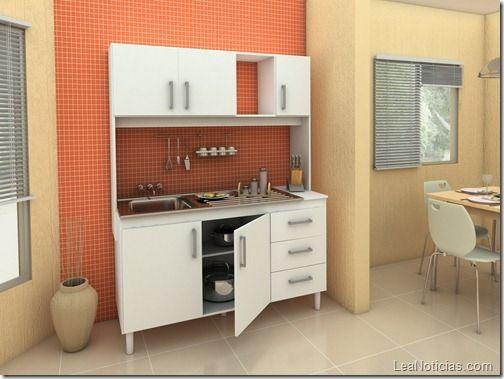 Decoraci n cocina modulares modulares de cocina pinterest for Disenos de cocinas integrales para espacios pequenos