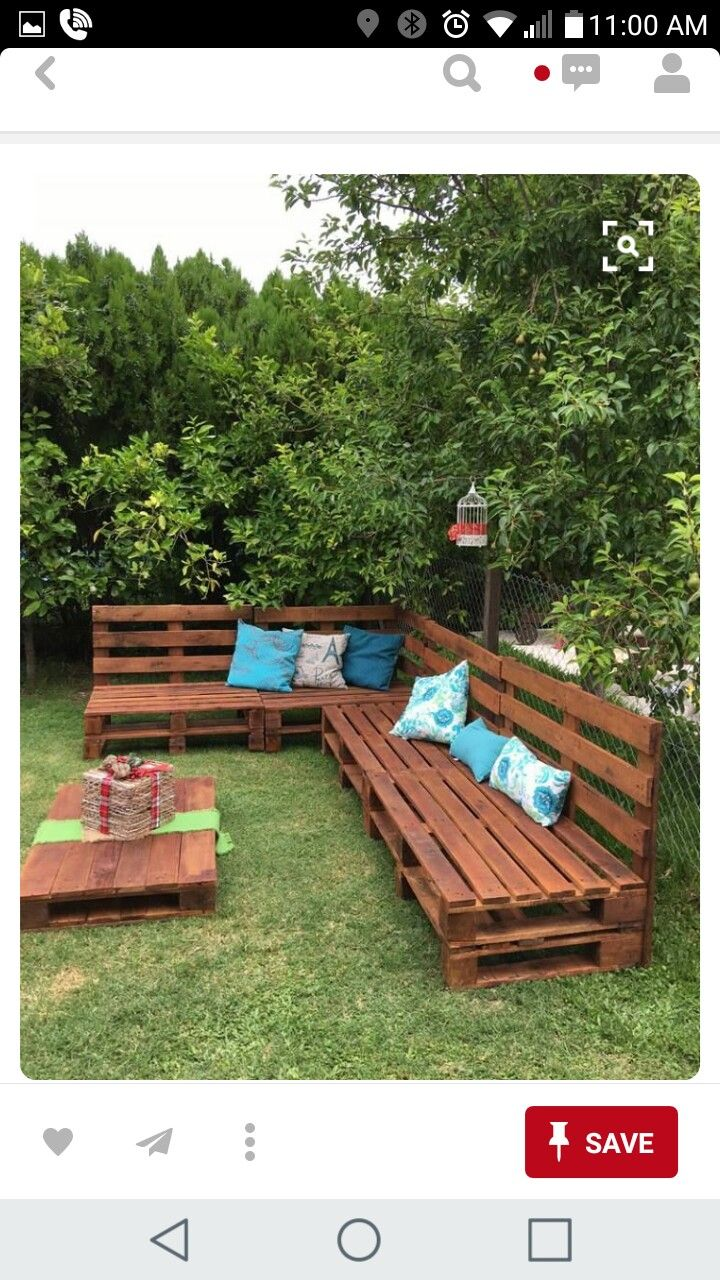 Cool Water Seal And Put Around The Fire Pit Outdoor Pallet Machost Co Dining Chair Design Ideas Machostcouk