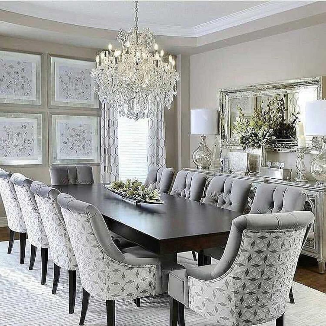 Lolyndecor On Instagram Grand Luxurious What S Your Favorite Feature 247interiors Dining Room Makeover Dinning Room Decor Elegant Dining Room