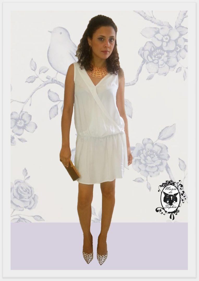Para se sentir Linda, Leve e Solta com esse Vestidinho White!