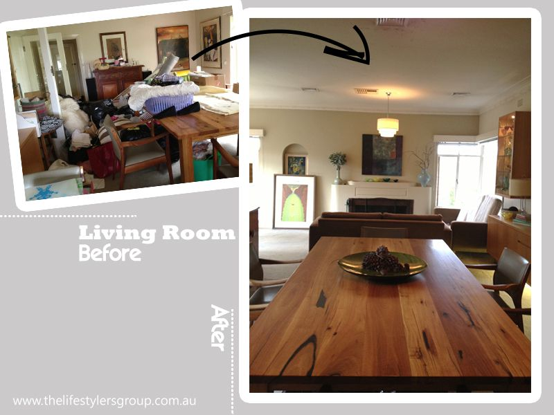 Declutter Before And After Property Photos
