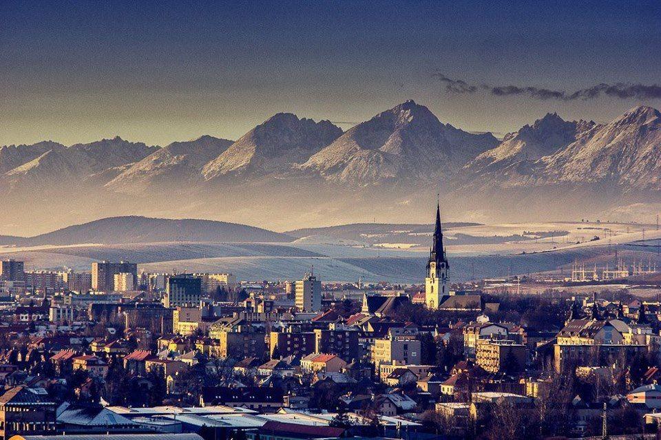 Spisska Nova Ves High Tatras Slovakia World Bratislava Slovenia Carpathian Mountains