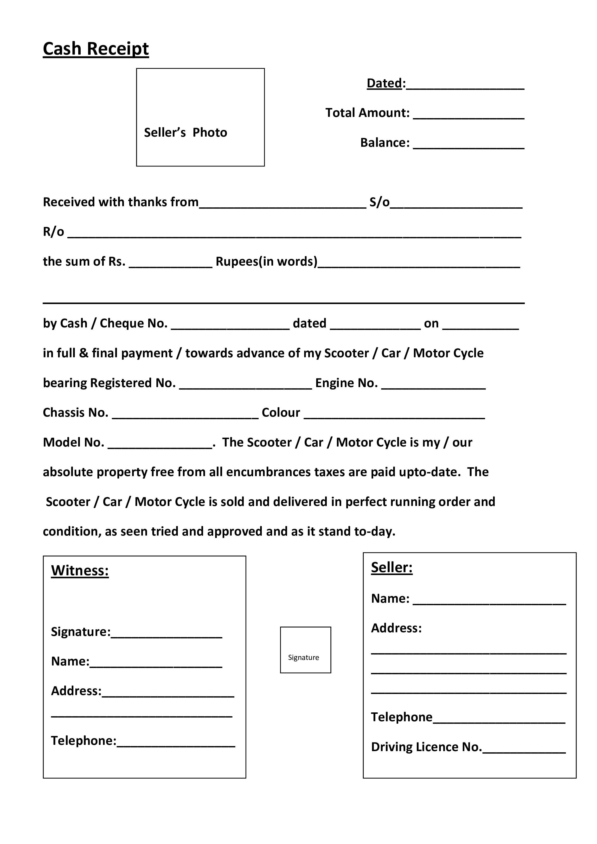 Cash Receipt Example How To Create A Cash Receipt Download This Example Of A Cash Receipt Template Now Receipt Template Invoice Template Templates