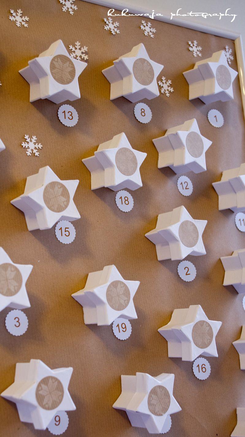 DIY Adventskalender Sternenzauber Xmas  http://kukuwaja.blogspot.de/2012/11/10-und-letzter-teil-der-diy.html