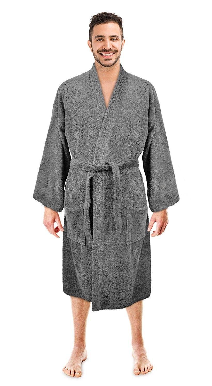 TowelSelections Men/'s Luxury Robe Turkish Cotton Terry Kimono Soft Bathrobe