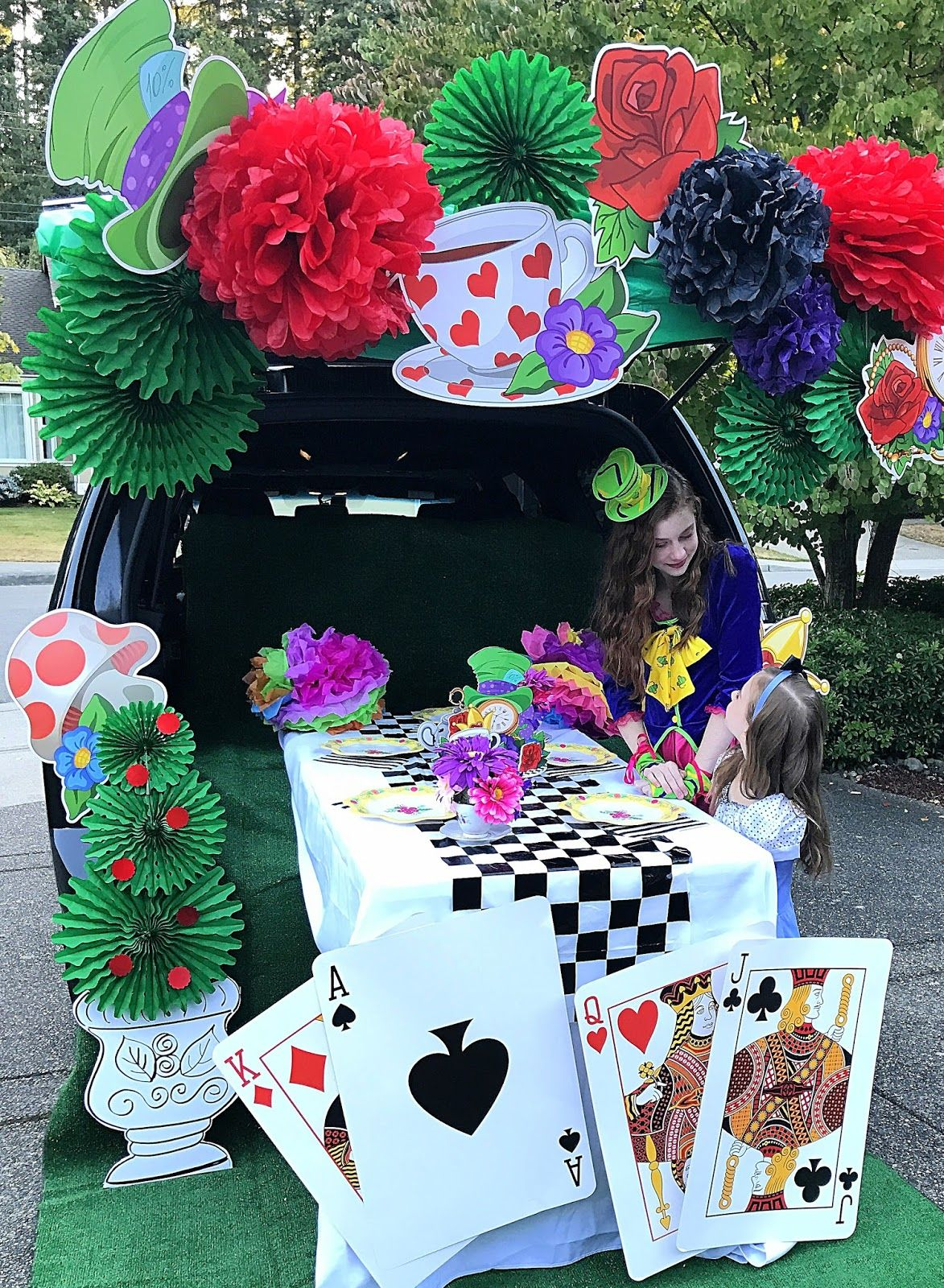 Trunk Or Treat Blog Hop! Mad Hatter Tea Party Style! Trick or