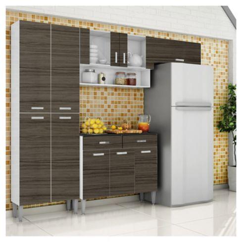 Parana Kit Mueble cocina Parana Quartz 8 puertas | Cl and Future