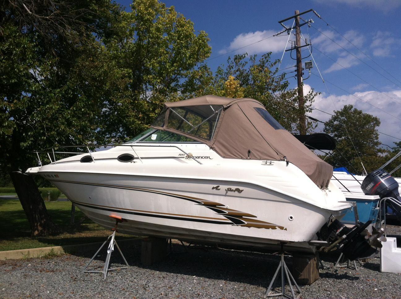 1998 Sea Ray 250 Sundancer Clarks Landing - Annapolis Area ...