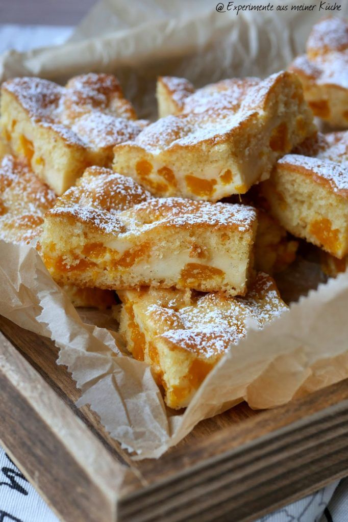 Mandarinen-Blechkuchen mit Crème fraîche-Guss - Experimente aus meiner Küche