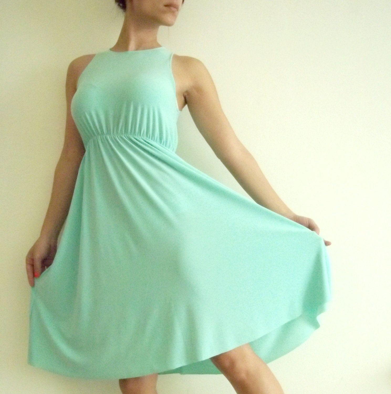 Mint Maternity Dress- Classic \'Rainbow\' Dress | Maternity dresses ...