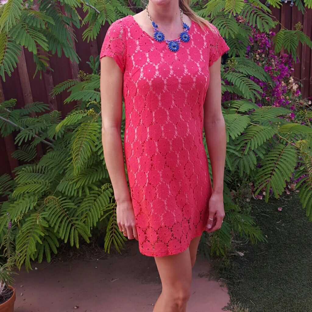 Red lace shift dress red lace and products