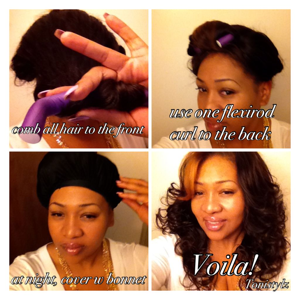 How to get full curls every time without heat hair pinterest