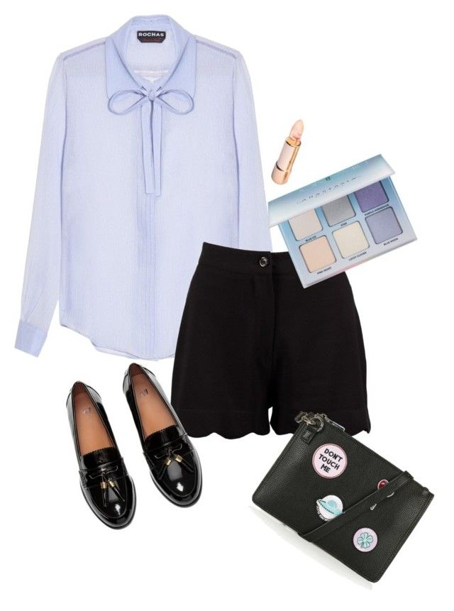 """""""Untitled #125"""" by pen-punzalan on Polyvore featuring Rochas, Boohoo, Topshop and Anastasia Beverly Hills"""