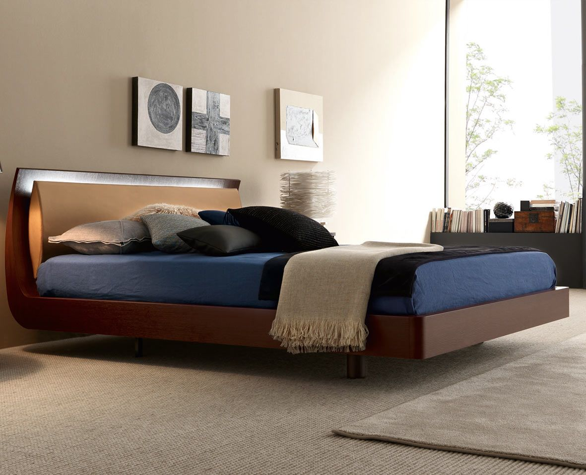 Best Bed With Integrated Led Lighting Bedroom Designs For 640 x 480