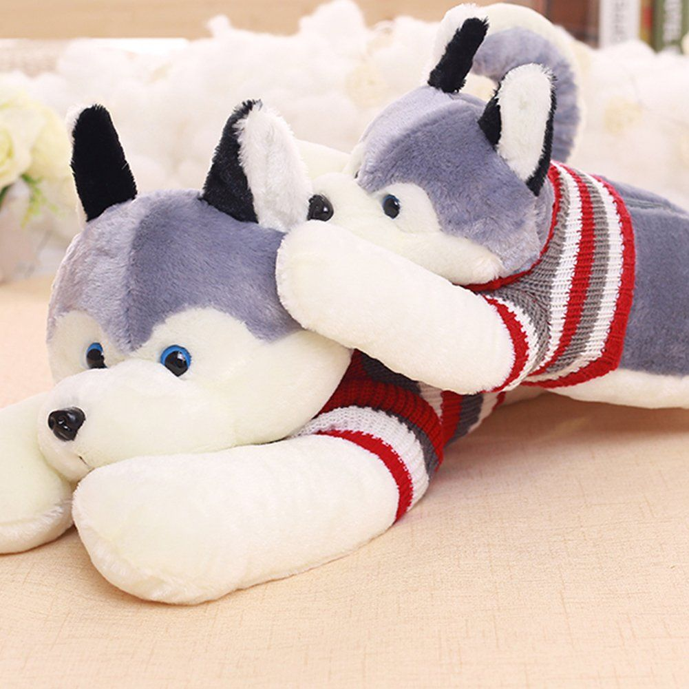 Wukong 50 7inch Large Plush Animal Toys Stuffed Husky Toy With