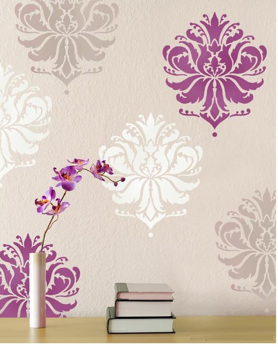 Como hacer adhesivos o siluetas decorativas para la pared - Plantillas decorativas pared ...