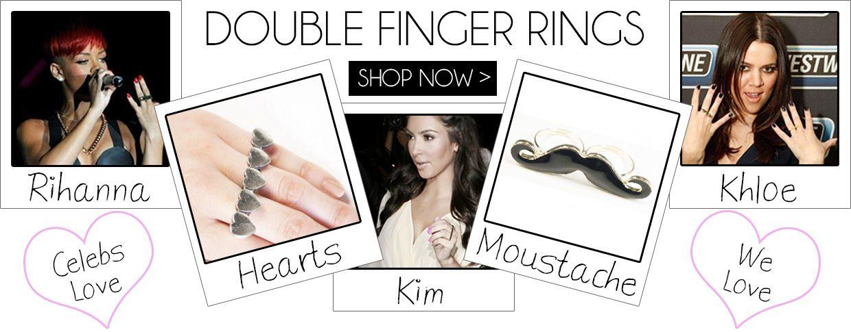 Double Finger Rings