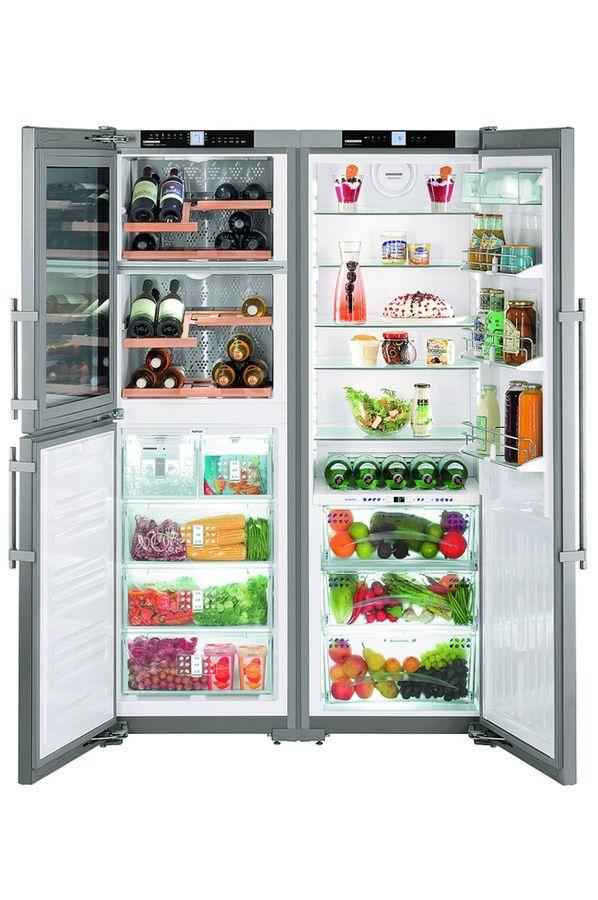 Réfrigérateur multi-portes Liebherr SBSES 7165A | Inspirations déco ...