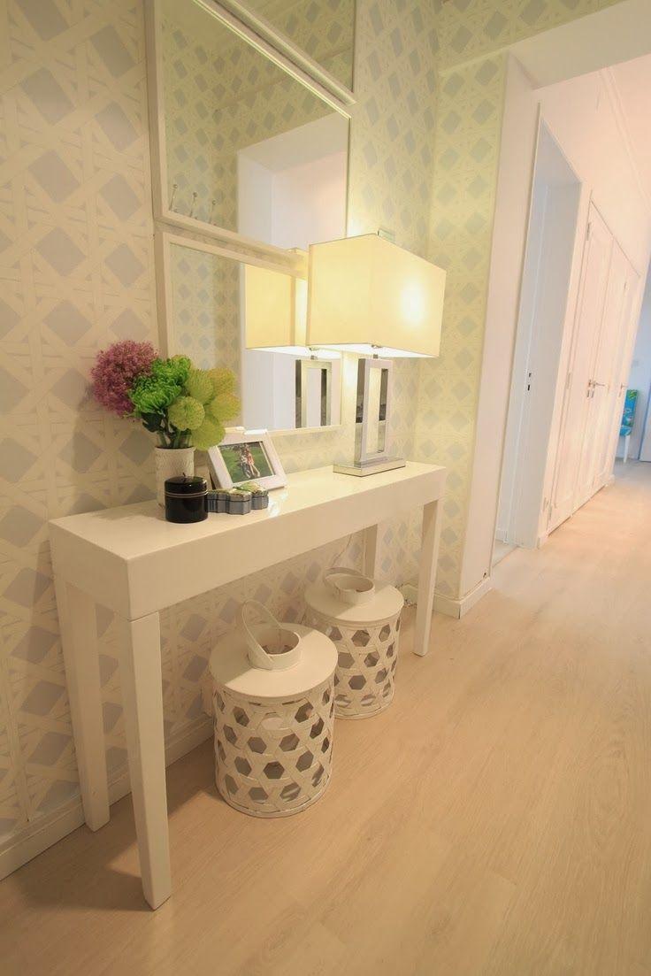 decoração hall de entrada (11) | Ideias para a casa | Pinterest ...