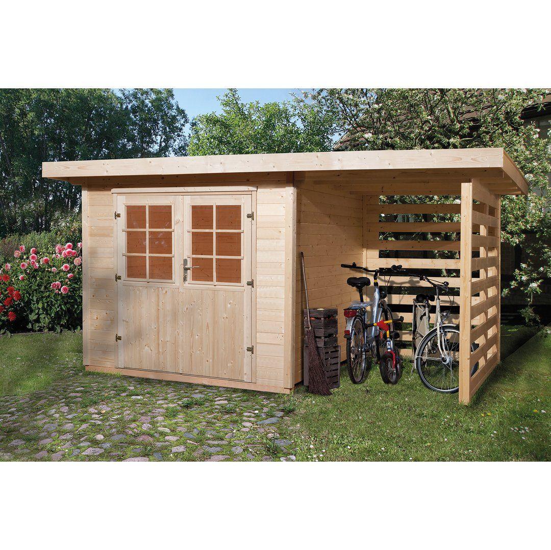 Obi Holz Gartenhaus La Spezia B X T 385 Cm X 209 Cm Davon 150 Cm Anbaudach Kaufen Bei Obi Gartenhaus Brennholz Schuppen Gartenhaus Holz