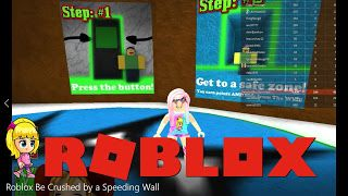 Codes To Be Crushed By A Speeding Wall Roblox