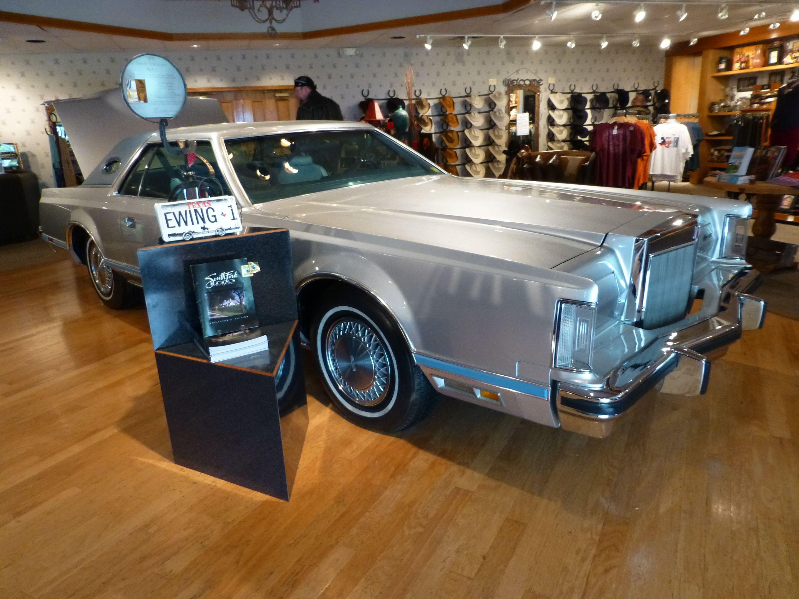 Jr S Lincoln Mark V At Southfork Ranch Dallas Adventure