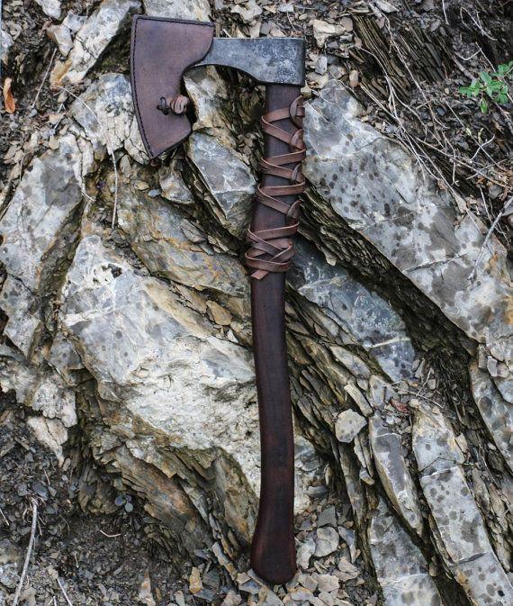 Viking Axe Warrior Berserker Norse Cold Weapon
