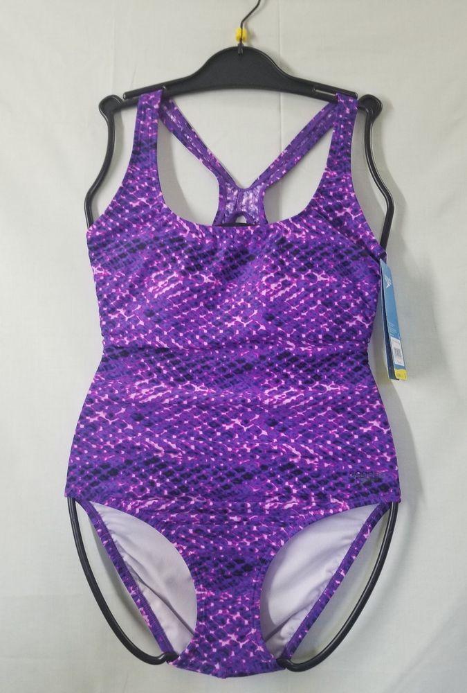 e2ef9726ab8 BRAND NEW SPEEDO ONE PIECE SWIMSUIT PURPLE #fashion #clothing #shoes  #accessories #womensclothing #swimwear #ad (ebay link)