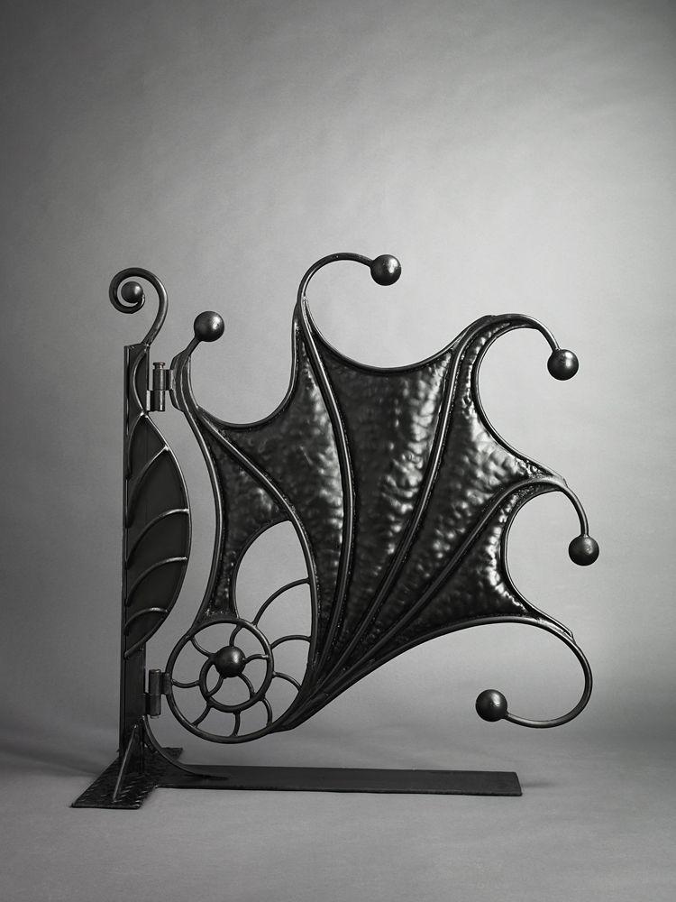 Handmade Gates | Ornamental Gates | Artistic Garden Gate | Bex Simon Fossil  Gate